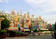 Tokyo Disneyland Small World. Tokyo Disneyland, Small world building, in a sunny day Stock Photo