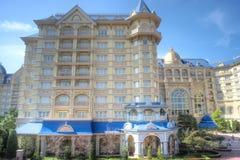 Tokyo Disneysea hotell royaltyfri fotografi
