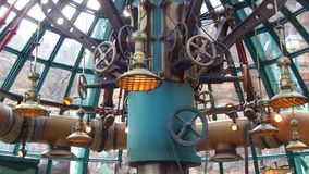 Tokyo DisneySea Mysterious Island Machinery Royalty Free Stock Images