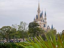 Tokyo Disnyland Japan i April 2018 royaltyfri bild