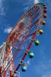Tokyo Dome City Attractions. Ferris Wheel at the Tokyo Dome City Attractions royalty free stock image