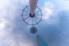 Tokyo Dome City's Flower Sky attraction Royalty Free Stock Photography