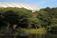 Tokyo Dome Garden Contrast Stock Photo