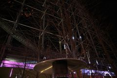 Tokyo Dome Stadt-Vergnügungspark stockfoto
