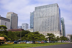 Tokyo: downtown chiyoda Royalty Free Stock Photography