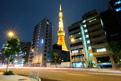 Tokyo downtown Royalty Free Stock Images