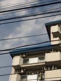 Tokyo-Drähte Lizenzfreies Stockbild