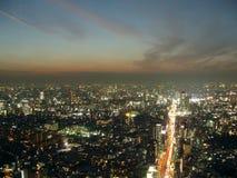 Tokyo At Dusk. Ariel view of Tokyo at dusk Stock Image