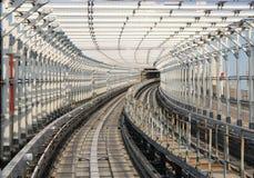Tokyo-Einschienenbahn stockbild