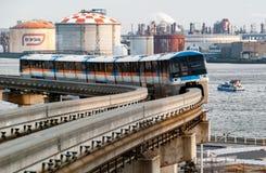 Tokyo-Einschienenbahn-Reihe 1000 stockbild