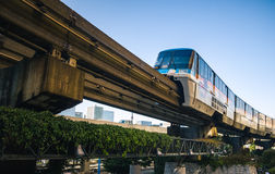 Tokyo enskenig järnvägdrev Arkivfoton