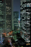 Tokyo entro Night Fotografie Stock Libere da Diritti