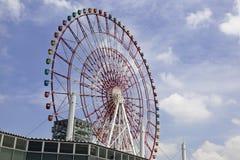 Tokyo: ferris wheel in amusement park Stock Photos