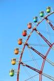 Tokyo ferris wheel. Ferris wheel in Tokyo, Japan. Observation wheel - tourist attraction Royalty Free Stock Photo