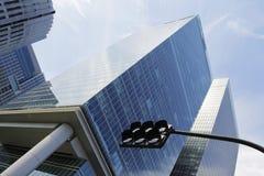 Tokyo Financial-District Stock Afbeelding