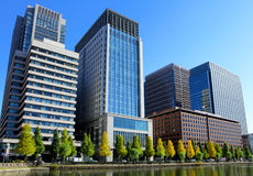 Tokyo financial district Stock Image