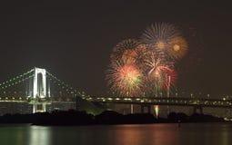 Tokyo firework Royalty Free Stock Image