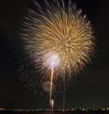 Tokyo firework Stock Image
