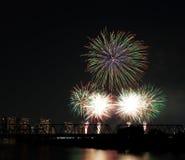Tokyo firework Royalty Free Stock Photos