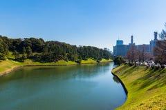 Tokyo-Fluss Stockfoto