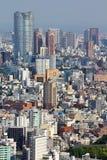 Tokyo flyg- sikt Royaltyfri Foto