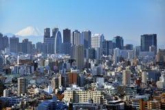 Tokyo and Fuji Stock Images