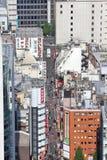 Tokyo gata Royaltyfria Bilder