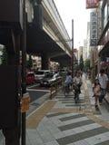 Tokyo gator Arkivfoto