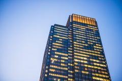 Tokyo Giappone - 21 febbraio 2016:: bella alta costruzione a Immagini Stock Libere da Diritti