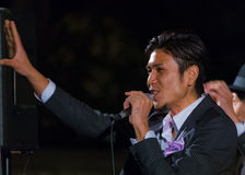TOKYO, GIAPPONE - 24 NOVEMBRE: Gruppo permanente di vocals del pesce a Tokyo Fotografia Stock