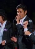 TOKYO, GIAPPONE - 24 NOVEMBRE: Vocals permanenti del pesce  Fotografie Stock Libere da Diritti