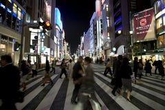 Tokyo-Ginza Royalty Free Stock Image
