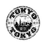 Tokyo grunge rubber stamp Royalty Free Stock Photos