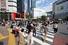 Tokyo - Hachiko crossing Royalty Free Stock Images