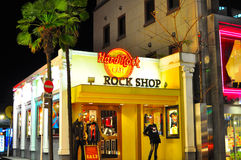 Tokyo Hard Rock Cafe , Japan. The famous Hard Rock Cafe outlet in Roppongi  , Tokyo , Japan Stock Photography