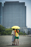Tokyo heat Stock Image