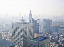 Tokyo high rise city royalty free stock photography