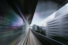 Tokyo High Speed black Royalty Free Stock Images