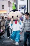 Tokyo-Himmel-Baummaskottchen Lizenzfreies Stockfoto