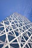 Tokyo-hohes Anstieggebäude Lizenzfreie Stockbilder