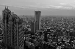 Tokyo horisont Arkivfoto