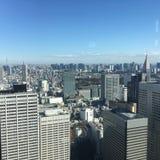 Tokyo horisont Arkivbilder