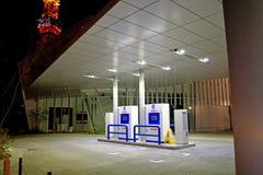 Tokyo hydrogen station Royalty Free Stock Image