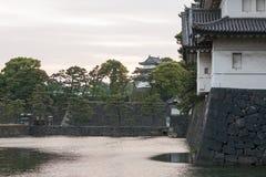 Tokyo imperial castle in Japan Stock Image