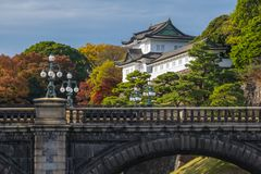 Tokyo Imperial Palace. Important places around The Tokyo Imperial Palace,Japan royalty free stock photo