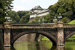 Tokyo Imperial Palace, Japan Stock Photography