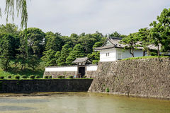The Tokyo Imperial palace Stock Image