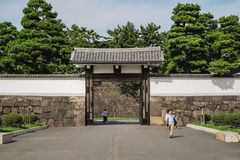 The Tokyo Imperial palace Stock Photo