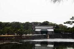 Tokyo Imperial Palace on March 31, 2017 | Japan travel with history landmark Royalty Free Stock Image