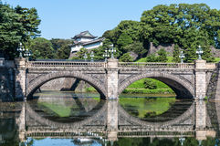 Tokyo Imperial Palace Royalty Free Stock Photo